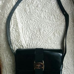 Vintage Salvatore Ferragamo Leather Purse